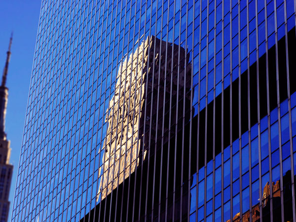 Reflection of 34th Street